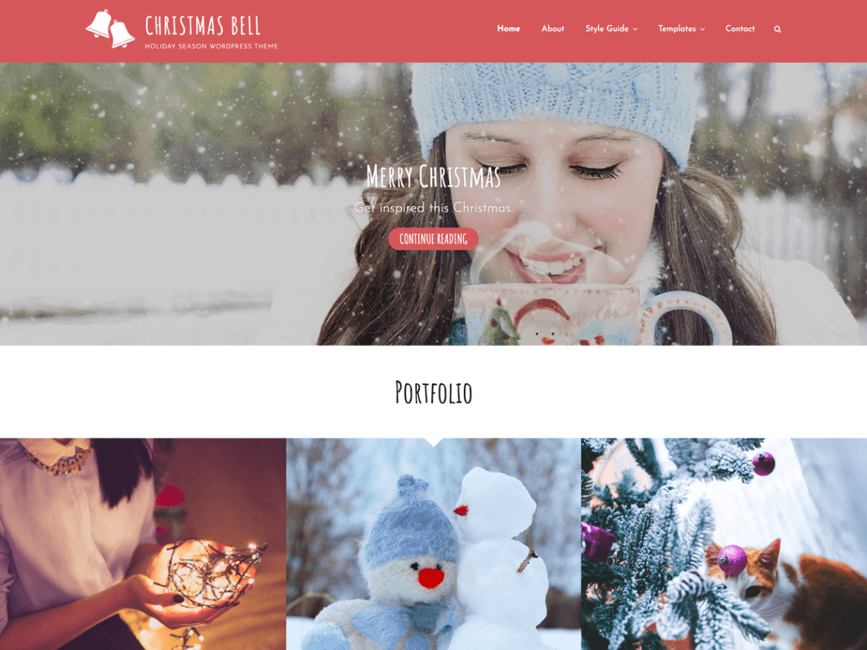 Best free Portfolio WordPress theme