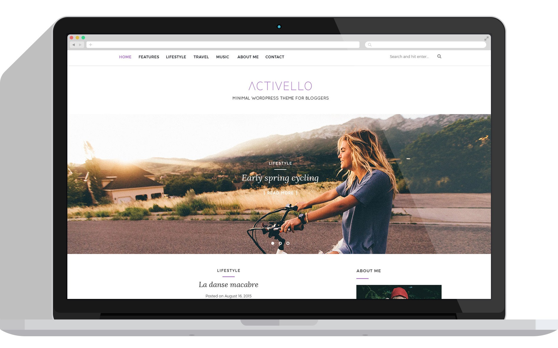 Best minimalist wordpress free theme