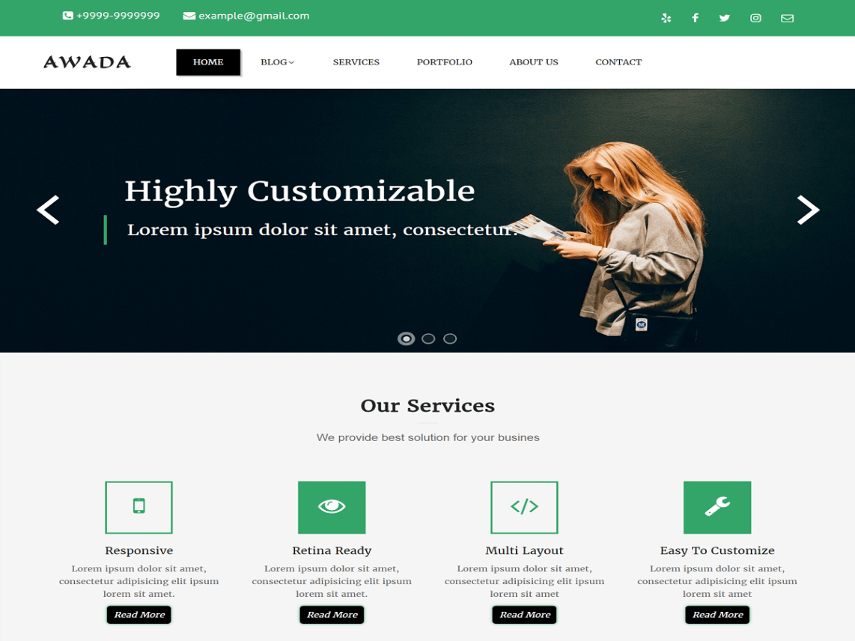 Best Premium Corporate WordPress Theme
