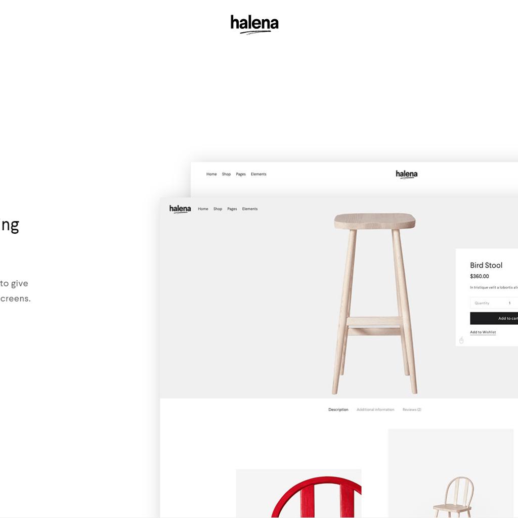 Halena | Minimal & Modern eCommerce WordPress Theme