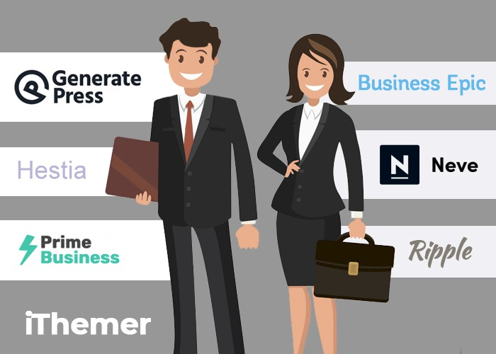 12 Best business themes for WordPress