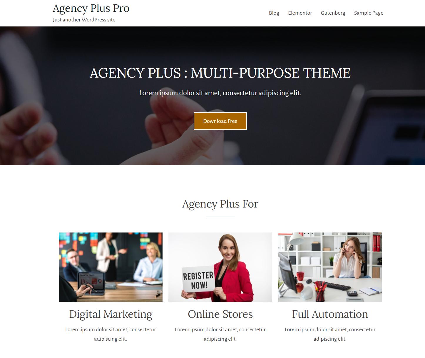 agency plus pro